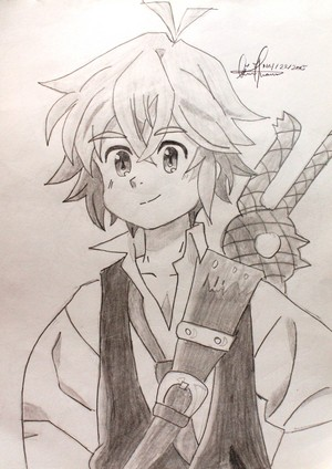 My Sketches of Nanatsu no Taizai..!