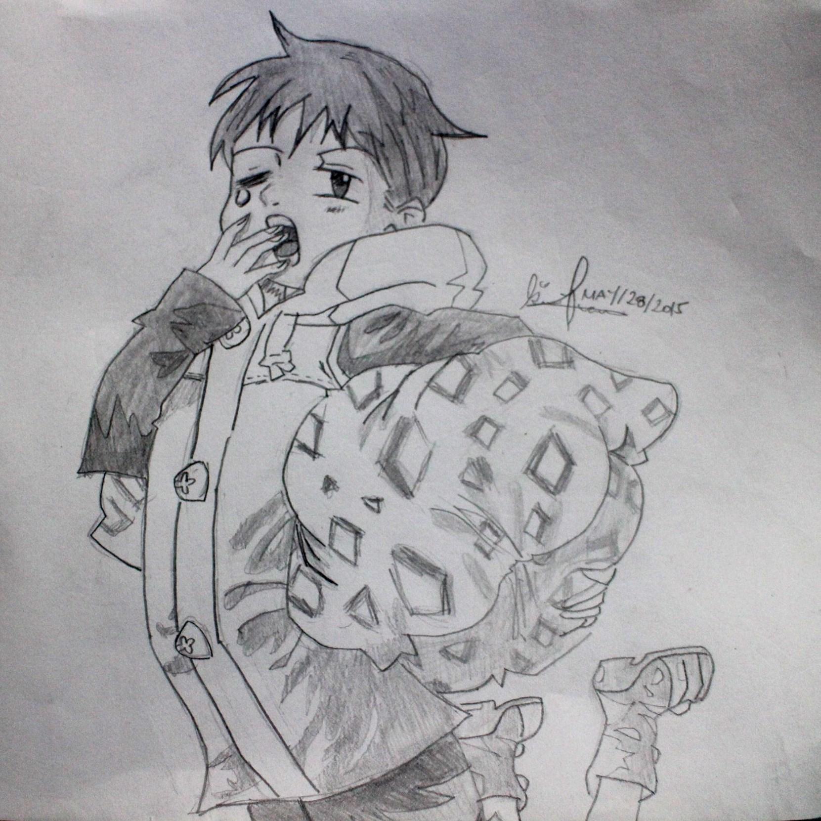 My Sketches of Nanatsu no Taizai..!