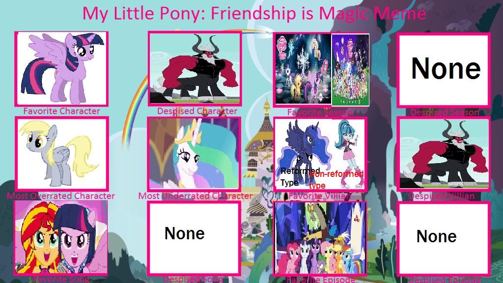 My personal MLP:FIM meme