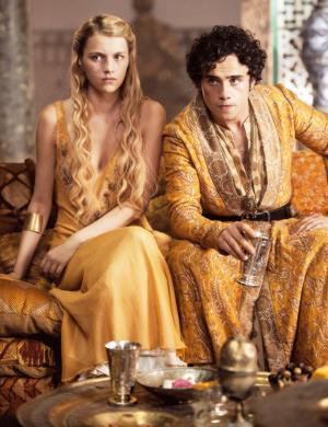Myrcella Baratheon and Trystane Martell