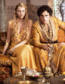 Myrcella Baratheon and Trystane Martell