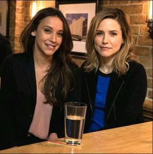 Nadia and Erin