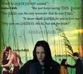 New Moon Bella with quotes - edward-and-bella fan art