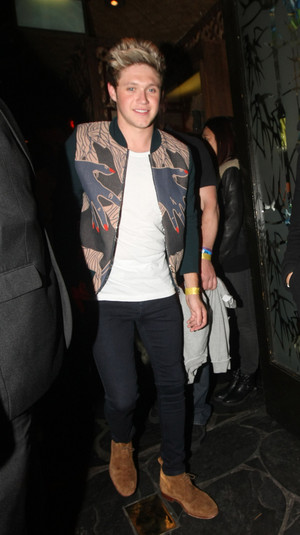 Niall Out in London