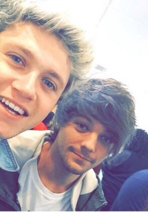 Niall and Louis at Britain's Got Talent