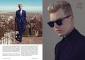 Noel Fisher in Fashionisto Magazine - Fall 2014