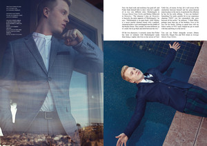 Noel Fisher in Fashionisto Magazine - Fall 2014