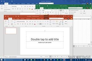 Office 2016 visualização (Color Theme)