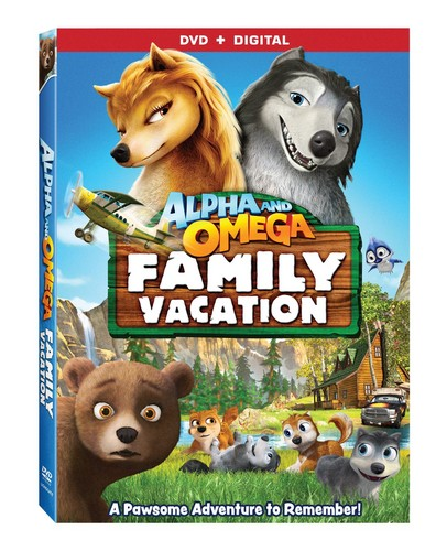 Alpha and Omega: Family Vacation karatasi la kupamba ukuta probably with anime entitled Official Alpha and Omega 5 DVD Cover