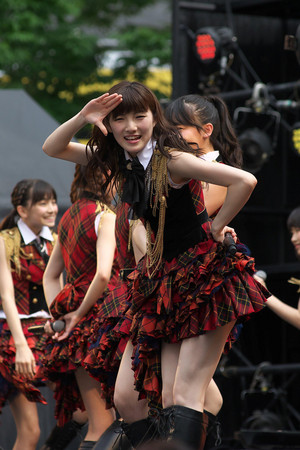 Okada Nana akb48 Campaign Free Live in Osaka