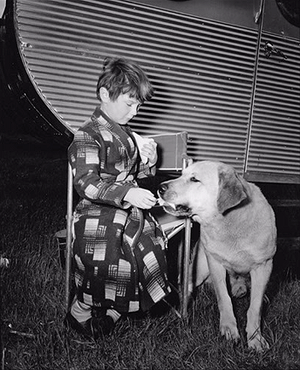 Old Yeller - Behind the Scenes - Kevin Corcoran and Spike