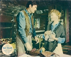 Old Yeller Lobby Card - Jim and Katie Coates