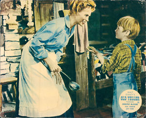 Old Yeller Lobby Card - Katie and Arliss Coates