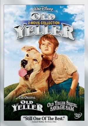 Old Yeller / Savage Sam DVD Cover