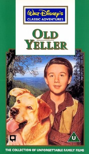 Old Yeller VHS Cover