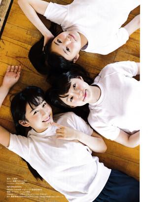Ota Yuuri Kushiro Rina Nishimura Aika 「ENTAME」 July 2015