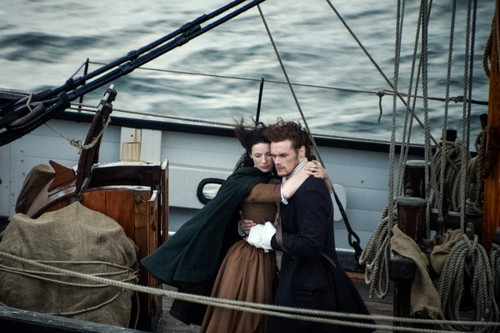 "Outlander 2014 TV Series پیپر وال called Outlander ""To Ransom a Man's Soul"" (1x16) promotional picture"