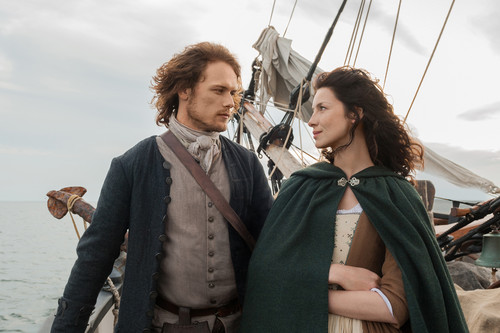 "Outlander 2014 TV Series پیپر وال titled Outlander ""To Ransom a Man's Soul"" (1x16) promotional picture"