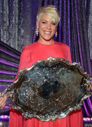 P!nk receives President's Award