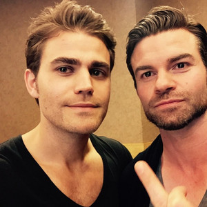 Paul Wesley and Daniel Gillies