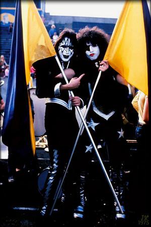 Paul and Ace ~Cadillac, Michigan…October 9, 1975