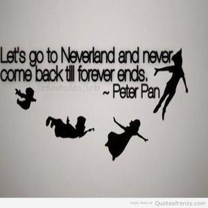Peter Pan উদ্ধৃতি