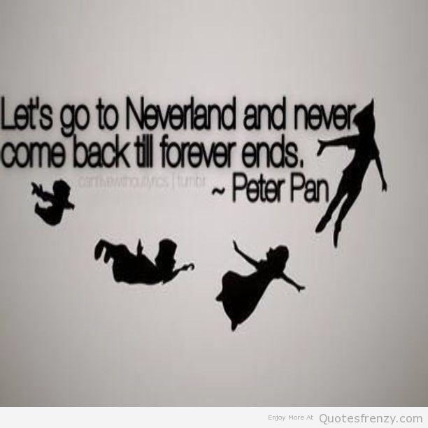 Peter Pan quotes - mia_galdamez Photo (38547610) - Fanpop