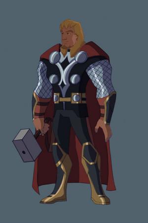 Pheobus as Thor
