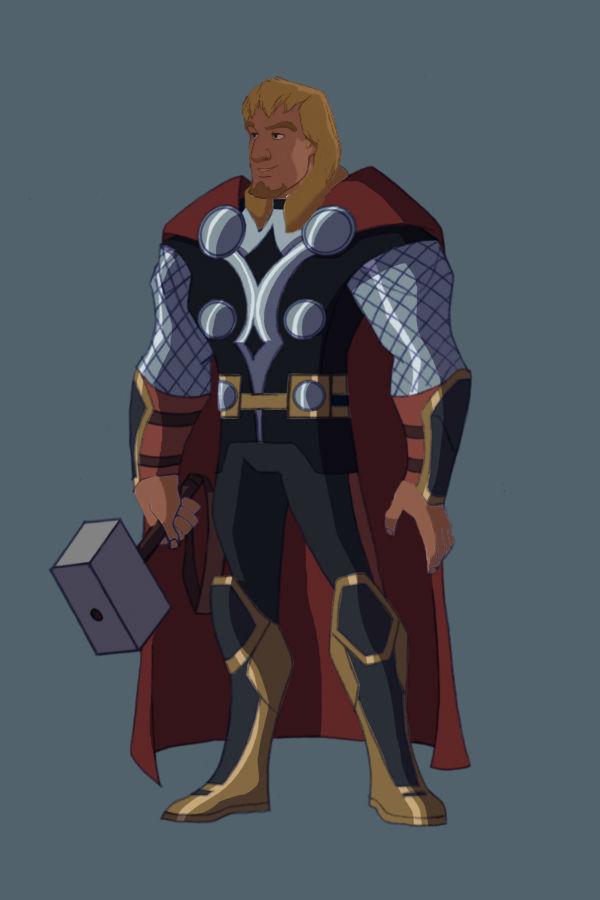 Childhood Animated Movie Heroines Images Pheobus As Thor Hd
