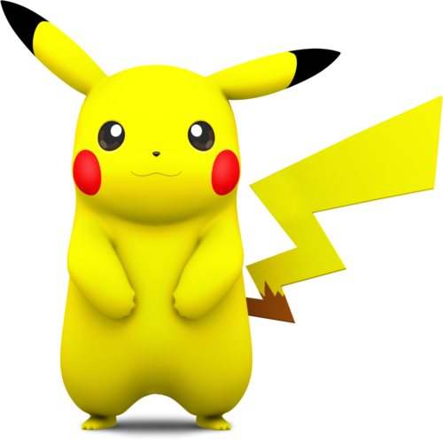 Pokémon achtergrond called Pikachu (Smash 4 model)