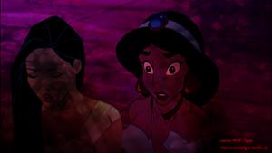 Pocahontas and jasmim