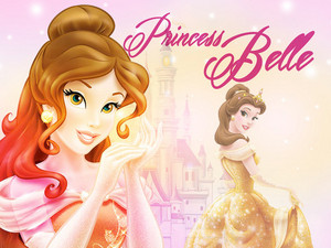 Princess Belle वॉलपेपर
