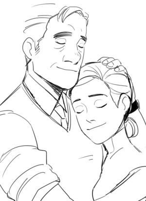 Professor Callaghan and Abigail