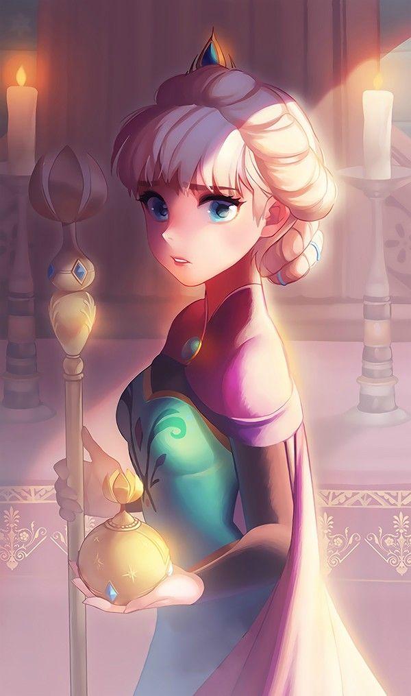Which modern disney princess are you quiz - Queen Elsa Elsa The Snow Queen Fan Art 38515375 Fanpop