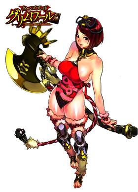 Queens Blade Grimoire Goldie
