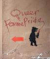 Queer Graffiti - lgbt photo