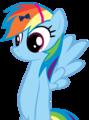 Rainbow Dash in a bow and a headband - rainbow-dash photo