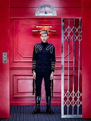 Rap Monster's teaser প্রতিমূর্তি for 'Sick'