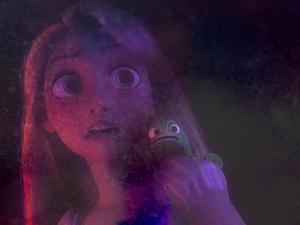 Rapunzel karatasi la kupamba ukuta