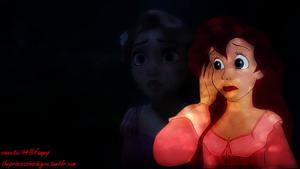 Rapunzel and Ariel
