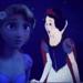Rapunzel and Snow White - disney-crossover icon
