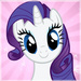 Rarity Icon - rarity-the-unicorn icon