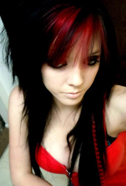 Scene Girls Images Red And Black Hair Wallpaper And Background