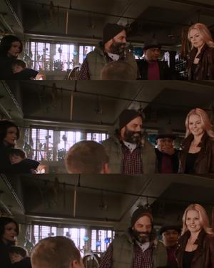 Regina's Not-So-Subtle Looks
