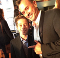Robert and Ben - robert-knepper photo