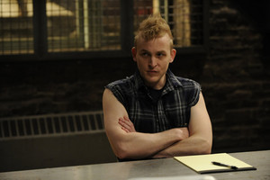 "Robin Lord Taylor as Dylan Fuller in Law and Order: SVU - ""Traumatic Wound"""