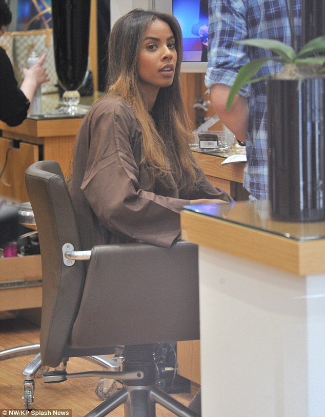 The Saturdays Images Rochelle At The Hair Salon Hd Wallpaper And