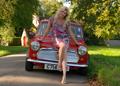 Rosalind's Mini - girls-n-cars photo