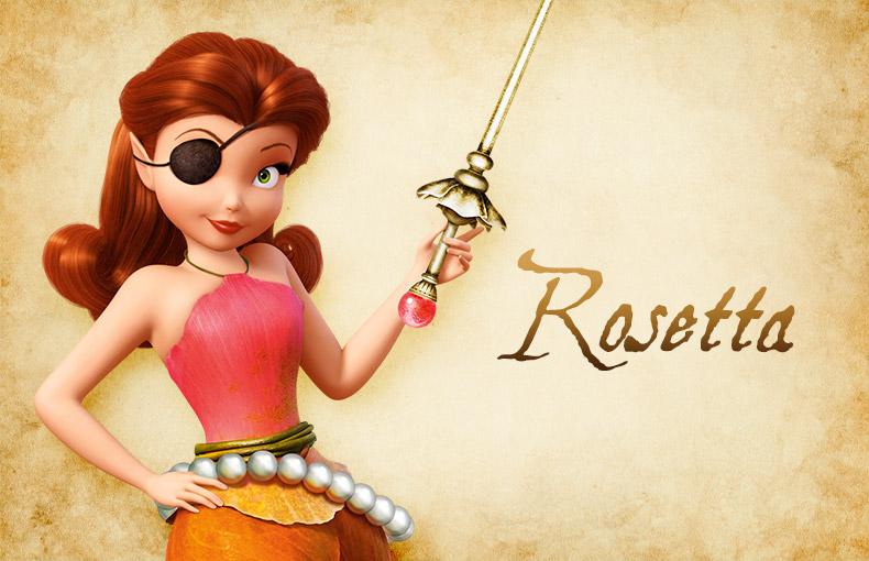 Rosetta Pirate fairy