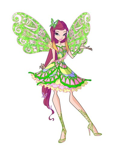 the winx club wallpaper entitled Roxy Butterflix